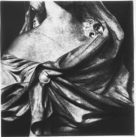 Shoulder, Gelatin Silver Print, 51in x 50in, 2000-1