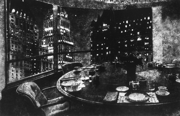 Conference Room/Hotel, Gelatin Silver Print, 48in x 71in, 1998