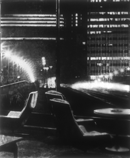 Lounge/Highway, Gelatin Silver Print, 63in x 54in, 1997