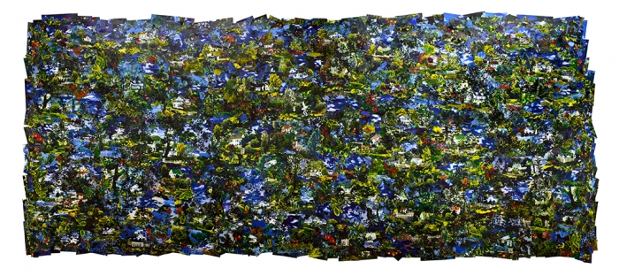 Ordinary Day Inkjet on fabric 109 inches x 246 inches 2016-19