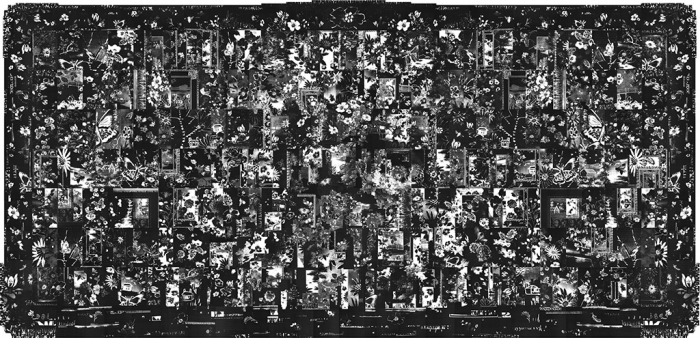 Tapestry, Inkjet on fabric, 11 feet x 24.5 feet, 2014-16